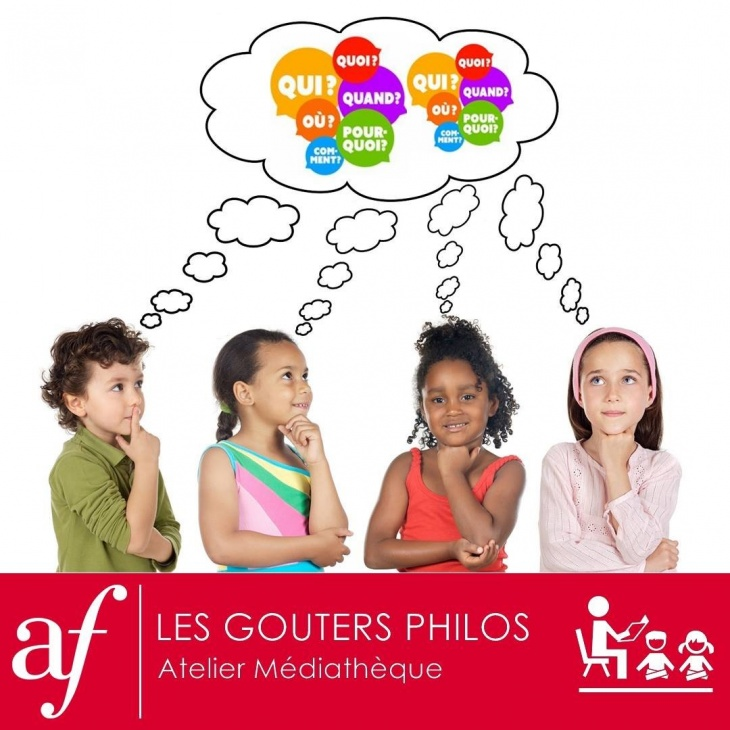 Goûters Philos / Philosophy for kids (French Speaking)