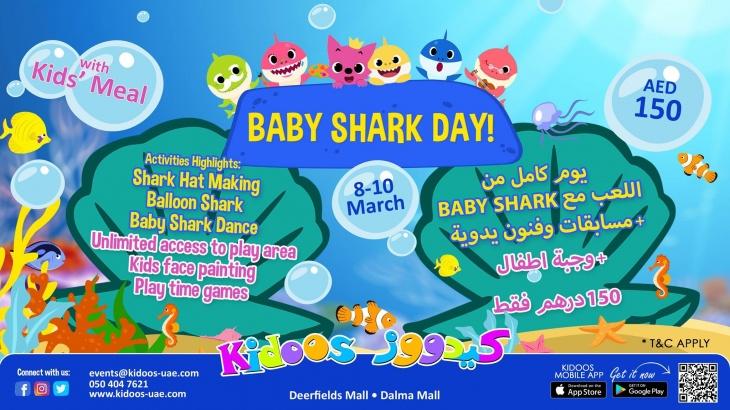 Baby shark day kidoos tickikids abu dhabi baby shark day kidoos stopboris Choice Image