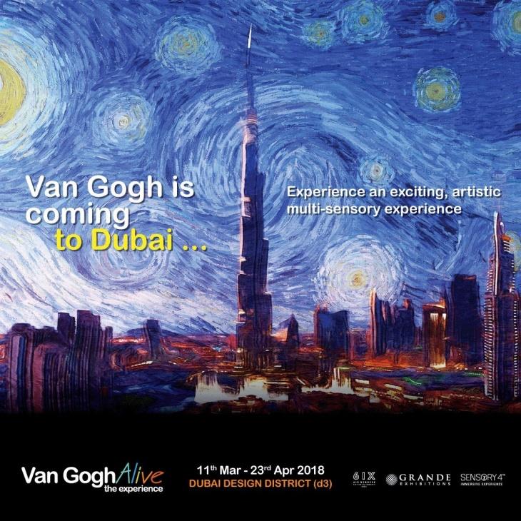 Van Gogh Alive Dubai