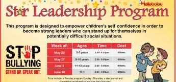 Star Leadership Program for kids 5-7 Years