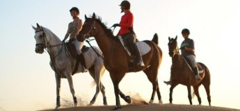 Desert Riding at JA Al Sahra Desert Resort Equestrian Centre