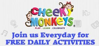 Free Daily Activities at Cheeky Monkeys