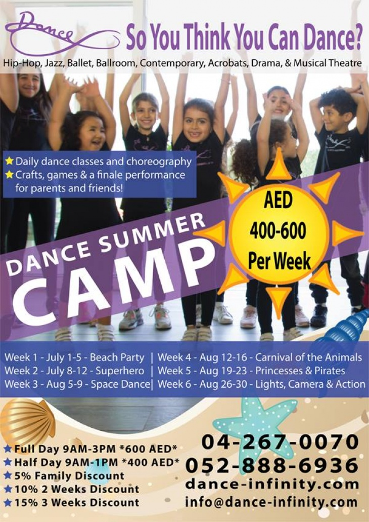 Dance Summer Camp 2018