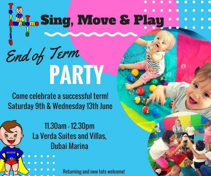 End of Term Sing, Move and Play Party