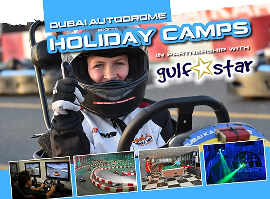 Holiday Camps @ Dubai Kartdrome