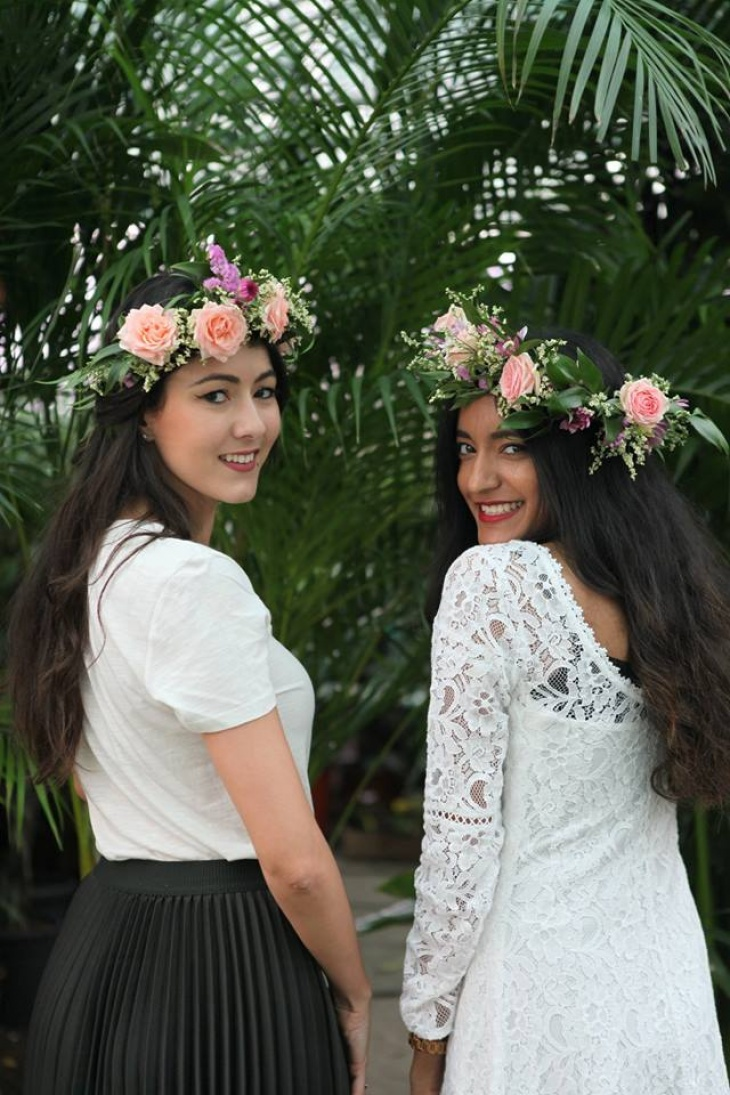 Flower crown workshop for kids by house of flowers tickikids dubai flower crown workshop for kids by house of flowers izmirmasajfo
