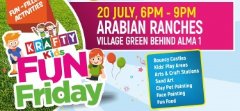 Krafty Kids Fun Friday at Arabian Ranches