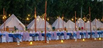 Camping adventure at The Longbeach Campground - Ras Al Khaimah