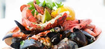 Seafood night @Olive Tree