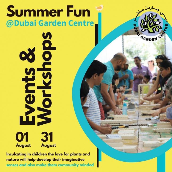 Summer Fun at Dubai Garden Centre