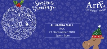 The ARTE Christmas Market in Al Hamra Mall