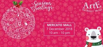 The ARTE Christmas Market in Mercato Mall
