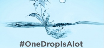 One Drop is a lot, it can save our environment
