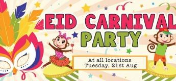 Eid Carnival Party @ Cheeky Monkeys Barsha