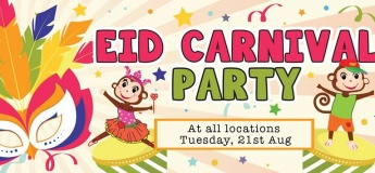 Eid Carnival Party @ Cheeky Monkeys J3 Mall