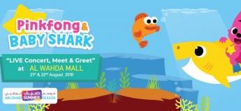 Pinkfong & Baby Shark Live @ Al Wahda Mall