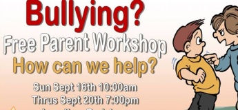 Bullying: How Can We Help Parent Workshop