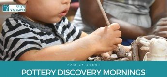 Saturday Pottery Discovery Family Event
