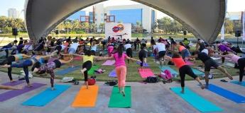 Yogafest Dubai at Dubai Internet City Amphitheatre