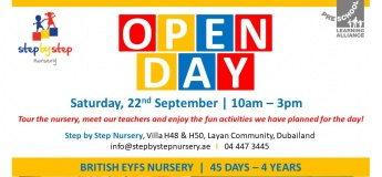 Open Day at Step By Step Nursery Dubai
