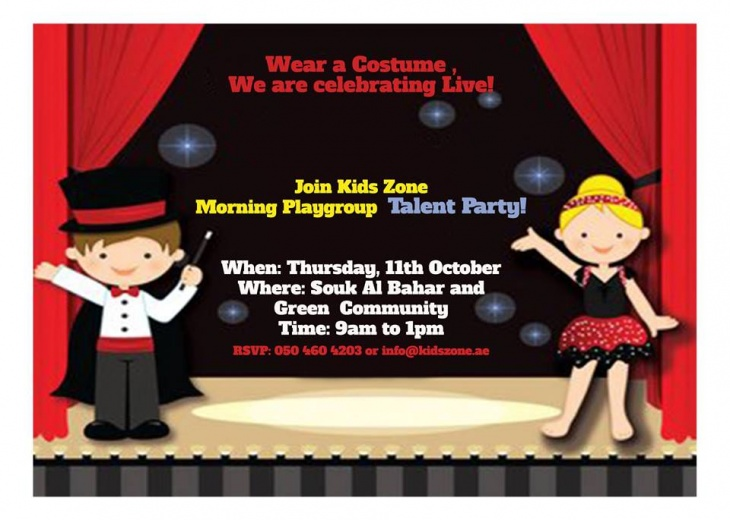 Talent Party/Morning Playgroup @ Kids Zone