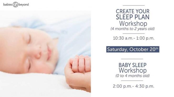 Baby Sleep Workshop 60 To 60 Months Old Tickikids Dubai Custom 4 Month Old Sleep Pattern