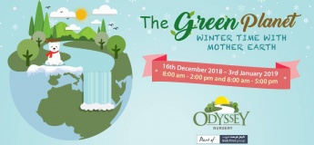 The Green Planet Winter Time with Mother Earth