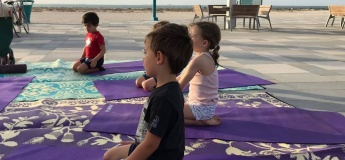 Kids yoga at Park House
