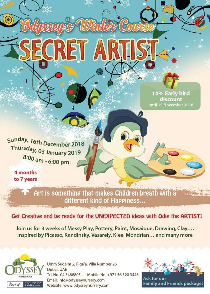 Odyssey's Winter Course: Secret Artist