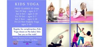 Kids Yoga Complimentary Classes
