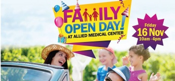 Family Open Day at Allied Medical Center