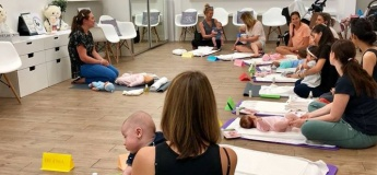 Group Baby Massage Programme (5 Weeks)