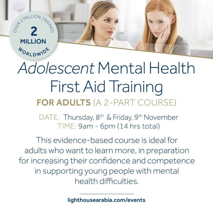 Adolescent Mental Health First Aid Training