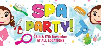 Spa Party at Cheeky Monkeys