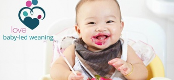 Love Baby-led weaning workshop for parents of 4-6 month olds
