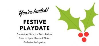 Festive Playdate at Le Petit Palais