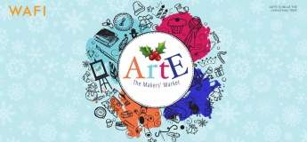 The ARTE Market Christmas Celebration with WAFI