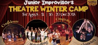 Junior Improvisor's Winter Camp: 8 to 11 Years
