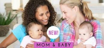 Mom And Baby Circle