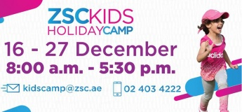 ZSC Kids Holiday Camp - Winter 2018