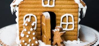Kids masterclass: Gingerbread house making