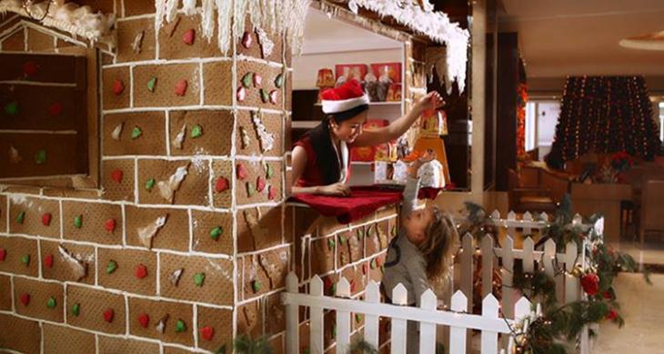 Gingerbread House @ Khalidiya Palace Rayhaan