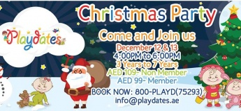 Christmas Party @ Playdates
