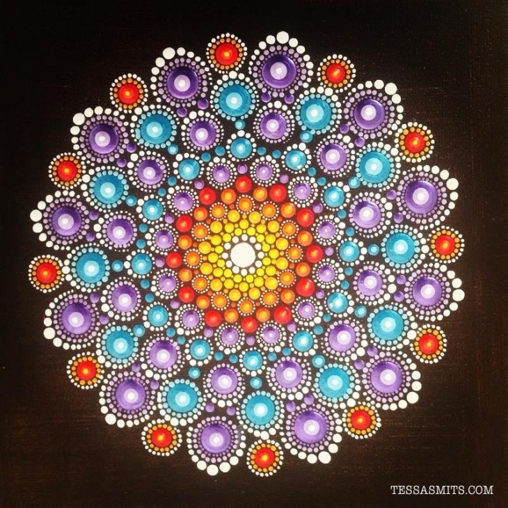 Dot Painting Mandala Workshop Tickikids Dubai