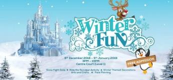 Winter Fun at Reef Mall