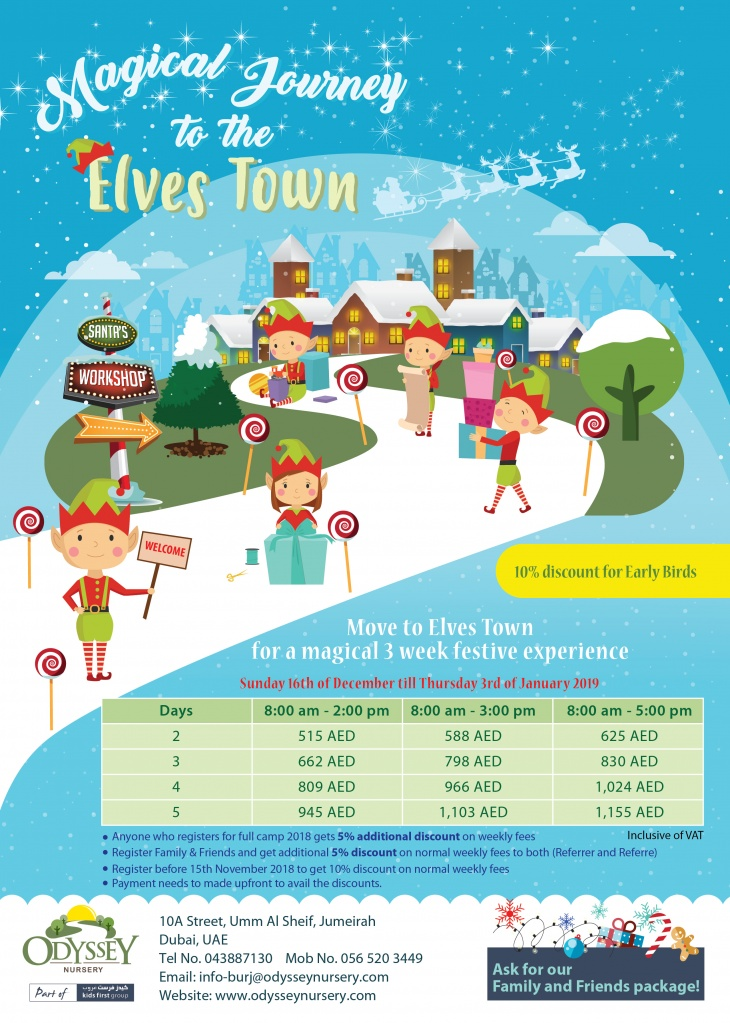 Magical Journey to the Elves Town