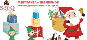 Visit Santa and friends at his grotto - Free