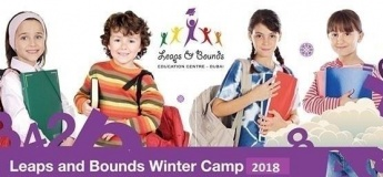Leaps and Bounds Winter camp 2018