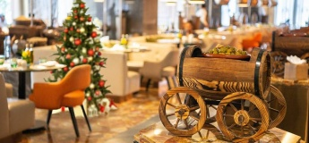 Christmas Eve Dinner and Day Brunch in Olea