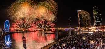 Ring in the New Year with four firework shows @ Dubai Festival City Mall